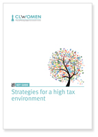 Strategies for a high tax environment